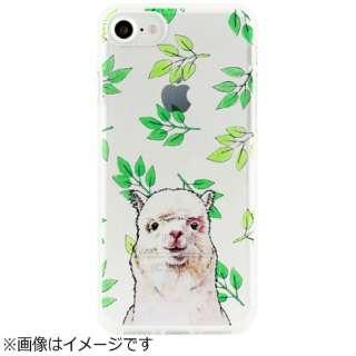 iPhone 7用 ソフトクリアケース アニマルズ アルパカ Dparks DS9490i7