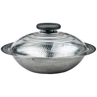 《IH対応》フタガガラスのIH対応ステンレス鍋26 雪平 MIS-26 (2~3人用)