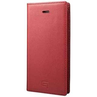 iPhone SE(第1世代)4インチ / 5s / 5用 レザーケースFull Leather Case レッド GLC606RD ポケット付