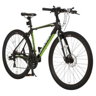 700×28C型 クロスバイク ATHENA(マットブラック/470サイズ《適応身長:160cm以上》) CAC-027-DC【2017年モデル】 【組立商品につき返品不可】