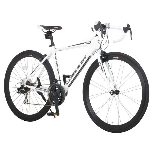700×28C型 ロードバイク UARNOS(ホワイト/470サイズ《適応身長:160cm以上》) CAR-015-CC【2017年モデル】 【組立商品につき返品不可】