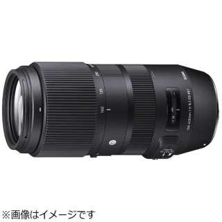 カメラレンズ 100-400mm F5-6.3 DG OS HSM Contemporary ブラック [シグマ /ズームレンズ]