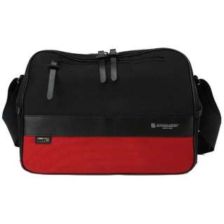 Camera Bag (M) <ICAM series> ICAM-35B BKRE (black X red)