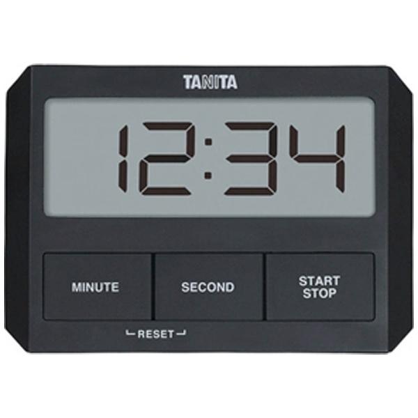 タニタ ガラスにつくタイマー TD-409-BK 調理器具