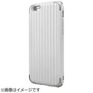 iPhone 6s/6用 GRAMAS COLORS Rib Hybrid Case ホワイト CHC406WH