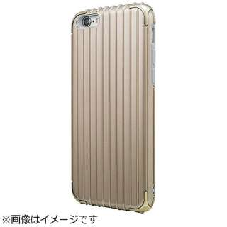 iPhone 6s/6用 GRAMAS COLORS Rib Hybrid Case ゴールド CHC406GL