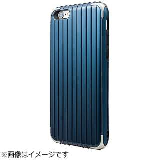 iPhone 6s/6用 GRAMAS COLORS Rib Hybrid Case ネイビー CHC406NV