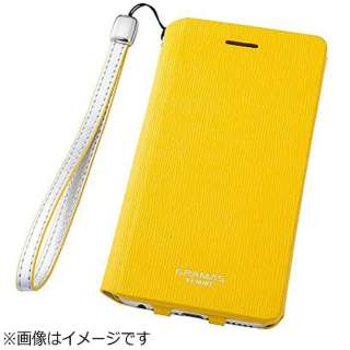 iPhone 6s/6用 手帳型レザーケース GRAMAS FEMME Colo Flap Leather Case イエロー FLC2126YL