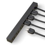 電源タップ (2ピン式・6個口・1.5m・ブラック) AVT-D5-2615BK