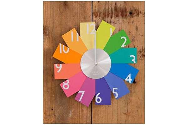掛け時計のおすすめ21選 イデアインターナショナル「カードウォールクロック(Card Wall Clock)」BCW009