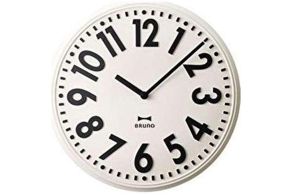 掛け時計のおすすめ21選 イデアインターナショナル「エンボスウォールクロック」BCW013