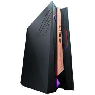 T084Z ゲーミングデスクトップパソコン ROG GR8 II ブラック [モニター無し /HDD:1TB /SSD:256GB /メモリ:16GB /2017年3月]