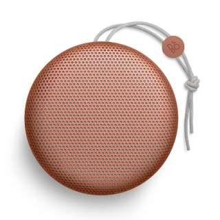 BEOPLAY A1 TANGERINE ブルートゥース スピーカー タンジェリンレッド [Bluetooth対応]