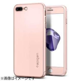iPhone 7 Plus用 Air Fit 360 ローズゴールド 043CS21102