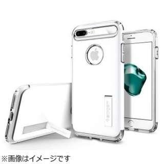 iPhone 7 Plus用 Slim Armor ジェットホワイト 043CS21050