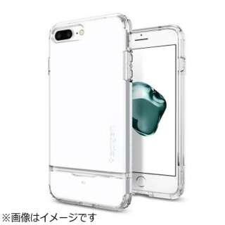 iPhone 7 Plus用 Flip Armor ジェットホワイト 043CS21047