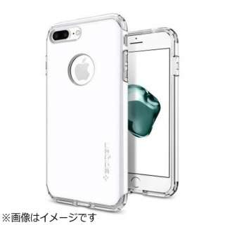 iPhone 7 Plus用 Hybrid Armor ジェットホワイト 043CS21046