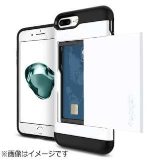 iPhone 7 Plus用 Slim Armor CS ジェットホワイト 043CS21044