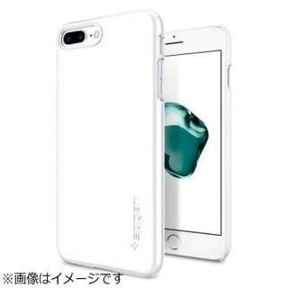 iPhone 7 Plus用 Thin Fit ジェットホワイト 043CS21043