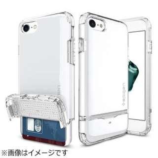 iPhone 7用 Flip Armor ジェットホワイト 042CS21042