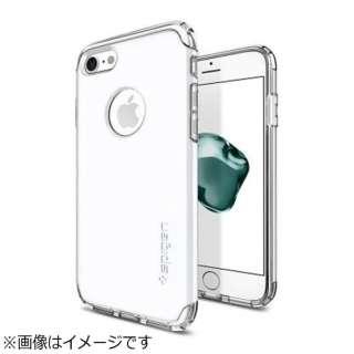 iPhone 7用 Hybrid Armor ジェットホワイト 042CS21041