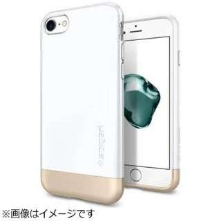 iPhone 7用 Style Armor ジェットホワイト 042CS21039