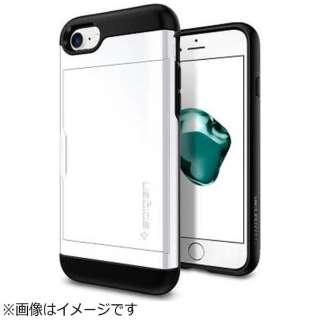iPhone 7用 Slim Armor CS ジェットホワイト 042CS21038