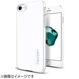iPhone 7用 Thin Fit ジェットホワイト 042CS21037