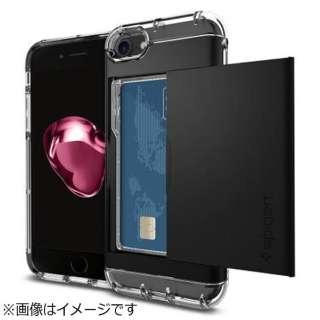 iPhone 7用 Crystal Wallet ブラック 042CS20981