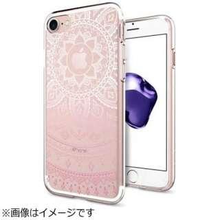 iPhone 7用 Liquid Crystal Shine ピンク 042CS20958