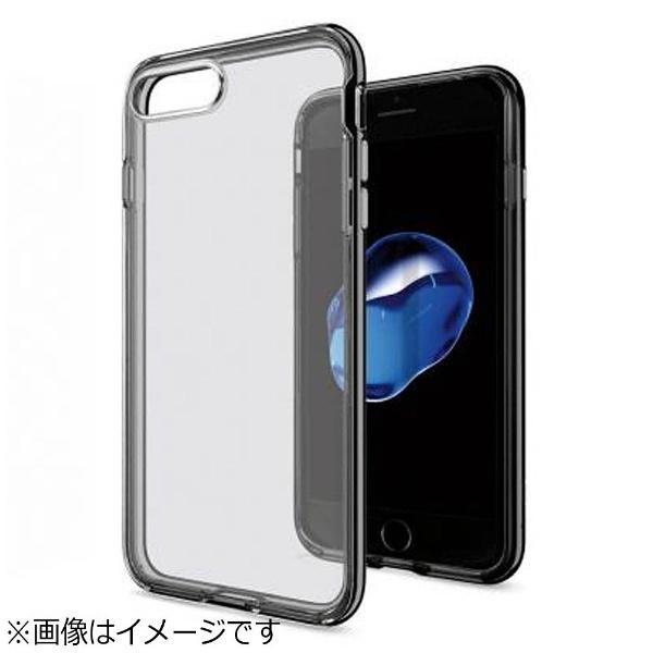 For iPhone 7 Plus Case Jet Black Hybrid