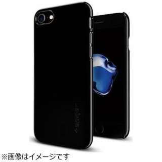 iPhone 7用 Thin Fit ジェットブラック 042CS20845
