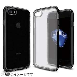 iPhone 7用 Neo Hybrid Crystal ジェットブラック 042CS20838