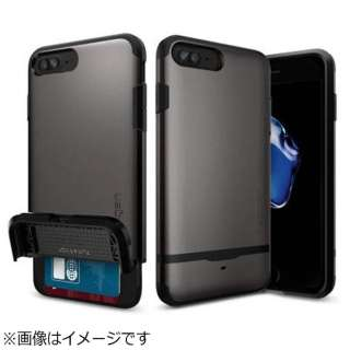 iPhone 7 Plus用 Flip Armor ガンメタル 043CS20776