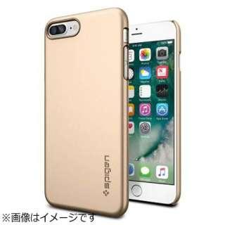 iPhone 7 Plus用 Thin Fit シャンパンゴールド 043CS20734