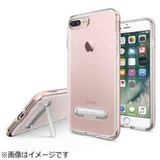iPhone 7 Plus用 Crystal Hybrid ローズゴールド 043CS20510