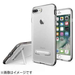 iPhone 7 Plus用 Crystal Hybrid ガンメタル 043CS20508