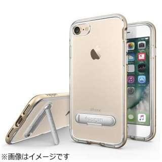 iPhone 7用 Crystal Hybrid ゴールド 042CS20460