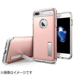 iPhone 7 Plus用 Slim Armor ローズゴールド 043CS20311