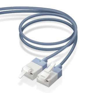 LD-GPASST/BU70 LANケーブル ブルー [7m /カテゴリー6A /スリム]