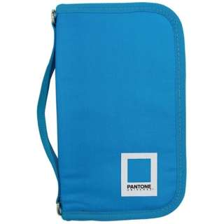 PAN7008 PT3ブルー パスポートケース