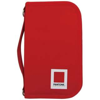 PAN7008 PT7レッド パスポートケース