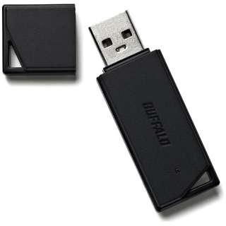 RUF2-KR16GA-BK USBメモリ RUF2-KRAシリーズ ブラック [16GB /USB2.0 /USB TypeA /キャップ式]