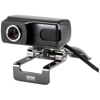 WEBカメラ CMS-V40BK ブラック [有線]
