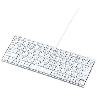 キーボード スリム ホワイト SKB-SL18WN [USB /有線]