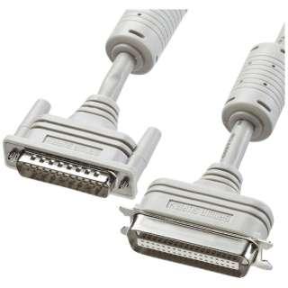 プリンタケーブル IEEE1284 (D-sub25pinオス インチネジ(4-40)-セントロニクス36pinオス・2m・ライトグレー) KPU-IEPS2K2