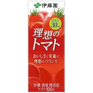 理想のトマト 200mlパック(24本)【野菜ジュース】