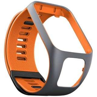 交換用ベルト 「TomTom交換用ベルト」 (L) グレー/オレンジ 9UR0.000.05