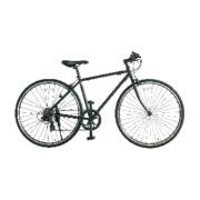 700×28C型 クロスバイク amadana TAG label(ツヤケシブラック/450サイズ《適応身長:150cm以上》) SBB707【2017年/クロモリモデル】 【ビックカメラグループオリジナル】 【組立商品につき返品不可】