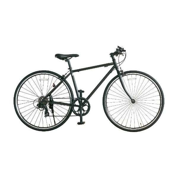 700×28C型 クロスバイク amadana(ツヤケシブラック/450サイズ《適応身長:150cm以上》) SBB707 【組立商品につき返品不可】